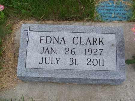CLARK, EDNA - Brown County, Nebraska | EDNA CLARK - Nebraska Gravestone Photos