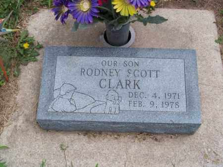 CLARK, RODNEY SCOTT - Brown County, Nebraska | RODNEY SCOTT CLARK - Nebraska Gravestone Photos