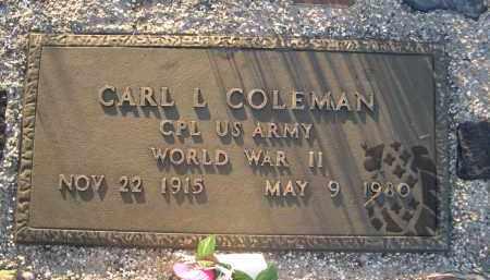 COLEMAN, CARL L. - Brown County, Nebraska | CARL L. COLEMAN - Nebraska Gravestone Photos
