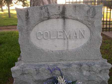 COLEMAN, FAMILY - Brown County, Nebraska | FAMILY COLEMAN - Nebraska Gravestone Photos