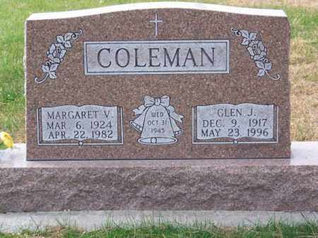 COLEMAN, GLEN J. - Brown County, Nebraska   GLEN J. COLEMAN - Nebraska Gravestone Photos
