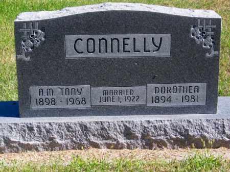 CONNELLY, DOROTHEA - Brown County, Nebraska | DOROTHEA CONNELLY - Nebraska Gravestone Photos