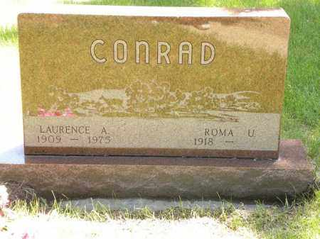 CONRAD, LAURENCE A. - Brown County, Nebraska   LAURENCE A. CONRAD - Nebraska Gravestone Photos
