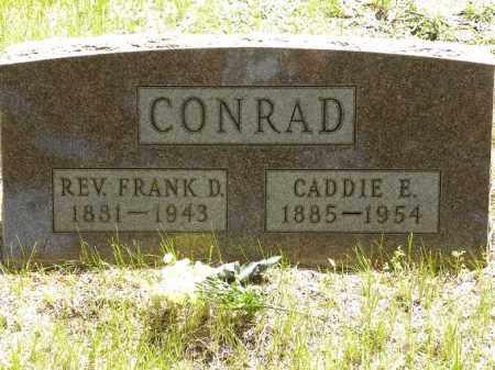 CONRAD, REV. FRANK D. - Brown County, Nebraska | REV. FRANK D. CONRAD - Nebraska Gravestone Photos