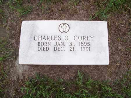 COREY, CHARLES O. - Brown County, Nebraska   CHARLES O. COREY - Nebraska Gravestone Photos