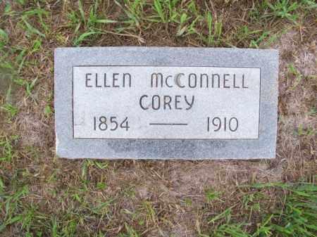 MC CONNELL COREY, ELLEN - Brown County, Nebraska | ELLEN MC CONNELL COREY - Nebraska Gravestone Photos