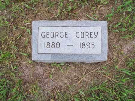 COREY, GEORGE - Brown County, Nebraska | GEORGE COREY - Nebraska Gravestone Photos