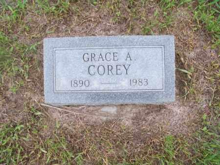 COREY, GRACE A. - Brown County, Nebraska | GRACE A. COREY - Nebraska Gravestone Photos