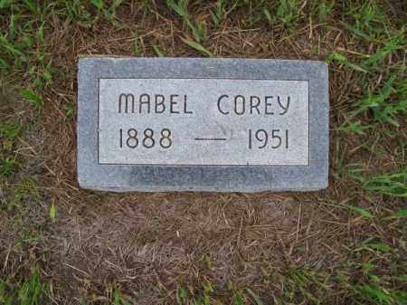 COREY, MABEL - Brown County, Nebraska   MABEL COREY - Nebraska Gravestone Photos