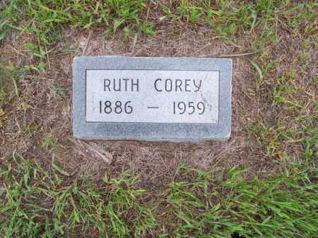 COREY, RUTH - Brown County, Nebraska | RUTH COREY - Nebraska Gravestone Photos