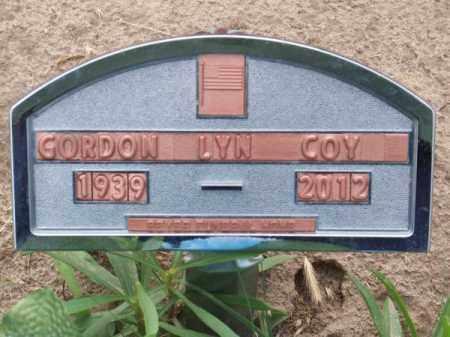 COY, GORDON LYN - Brown County, Nebraska | GORDON LYN COY - Nebraska Gravestone Photos