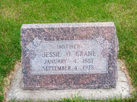 CRANE, JESSIE O. - Brown County, Nebraska   JESSIE O. CRANE - Nebraska Gravestone Photos