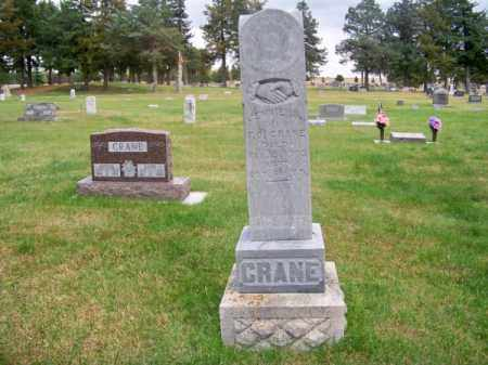 CRANE, JENNIE B. - Brown County, Nebraska   JENNIE B. CRANE - Nebraska Gravestone Photos