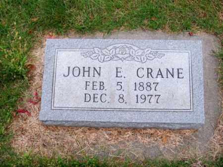 CRANE, JOHN E. - Brown County, Nebraska | JOHN E. CRANE - Nebraska Gravestone Photos
