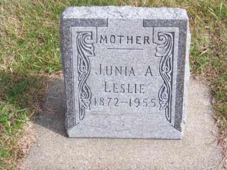 CRANE, JUNIA A. - Brown County, Nebraska | JUNIA A. CRANE - Nebraska Gravestone Photos