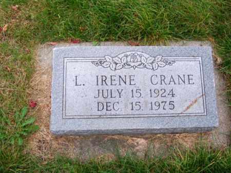CRANE, L. IRENE - Brown County, Nebraska | L. IRENE CRANE - Nebraska Gravestone Photos