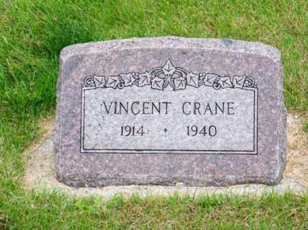CRANE, VINCENT - Brown County, Nebraska | VINCENT CRANE - Nebraska Gravestone Photos