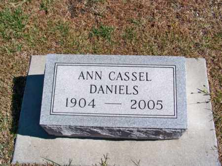 CASSEL DANIELS, ANN - Brown County, Nebraska | ANN CASSEL DANIELS - Nebraska Gravestone Photos
