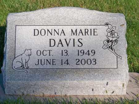 DAVIS, DONNA MARIE - Brown County, Nebraska   DONNA MARIE DAVIS - Nebraska Gravestone Photos