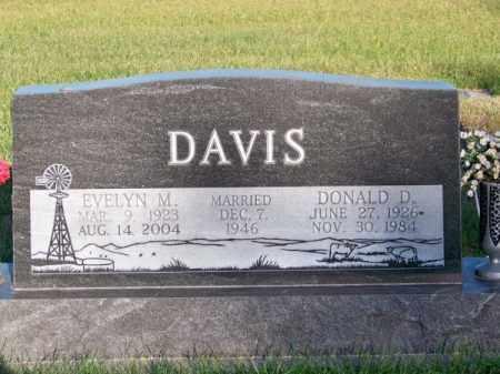 DAVIS, DONALD D. - Brown County, Nebraska | DONALD D. DAVIS - Nebraska Gravestone Photos
