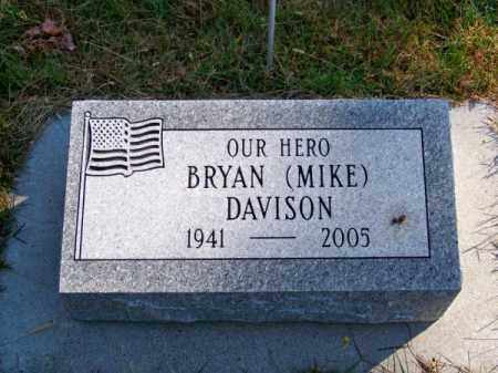 DAVISON, BRYAN (MIKE) - Brown County, Nebraska | BRYAN (MIKE) DAVISON - Nebraska Gravestone Photos