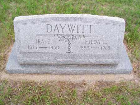 DAYWITT, IRA E. - Brown County, Nebraska | IRA E. DAYWITT - Nebraska Gravestone Photos