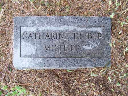 DEIBER, CATHARINE - Brown County, Nebraska   CATHARINE DEIBER - Nebraska Gravestone Photos