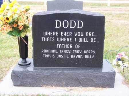 DODD, WILLIAM RAY - Brown County, Nebraska | WILLIAM RAY DODD - Nebraska Gravestone Photos
