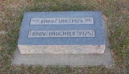 DONAHOO, BABY SON - Brown County, Nebraska   BABY SON DONAHOO - Nebraska Gravestone Photos