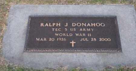 DONAHOO, RALPH J. - Brown County, Nebraska | RALPH J. DONAHOO - Nebraska Gravestone Photos