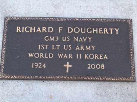 DOUGHERTY, RICHARD F. - Brown County, Nebraska | RICHARD F. DOUGHERTY - Nebraska Gravestone Photos