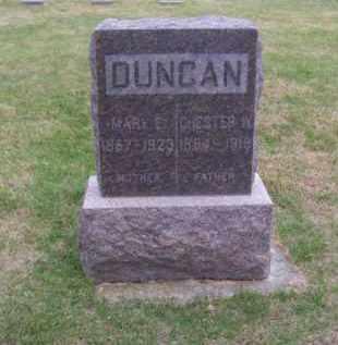DUNCAN, MARY E. - Brown County, Nebraska | MARY E. DUNCAN - Nebraska Gravestone Photos
