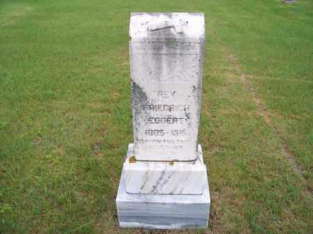 EGGERT, REV. FRIEDRICH - Brown County, Nebraska | REV. FRIEDRICH EGGERT - Nebraska Gravestone Photos