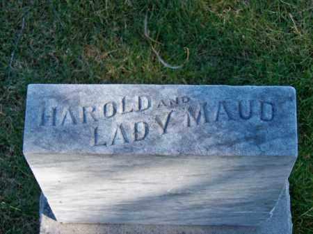 ELLIS, LADY MAUD - Brown County, Nebraska   LADY MAUD ELLIS - Nebraska Gravestone Photos