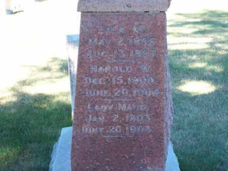 ELLIS, LILA M. - Brown County, Nebraska   LILA M. ELLIS - Nebraska Gravestone Photos