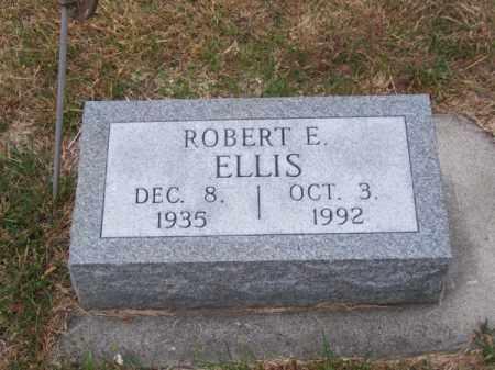 ELLIS, ROBERT E. - Brown County, Nebraska   ROBERT E. ELLIS - Nebraska Gravestone Photos