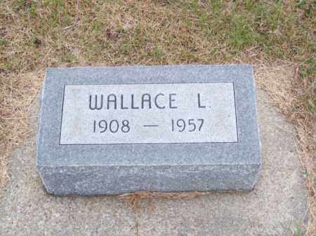ELLIS, WALLACE L. - Brown County, Nebraska | WALLACE L. ELLIS - Nebraska Gravestone Photos