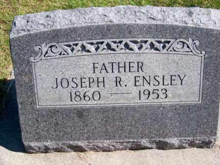 ENSLEY, JOSEPH R. - Brown County, Nebraska | JOSEPH R. ENSLEY - Nebraska Gravestone Photos