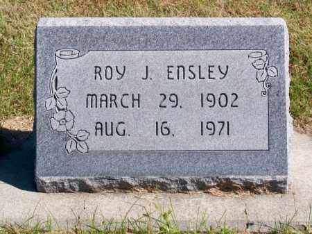 ENSLEY, ROY J. - Brown County, Nebraska | ROY J. ENSLEY - Nebraska Gravestone Photos