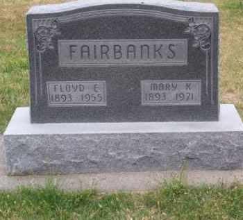 FAIRBANKS, MARY K. - Brown County, Nebraska | MARY K. FAIRBANKS - Nebraska Gravestone Photos