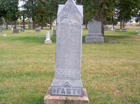 FAST, SARAH J. - Brown County, Nebraska | SARAH J. FAST - Nebraska Gravestone Photos