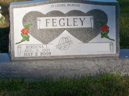 FEGLEY, BERDENA I. - Brown County, Nebraska | BERDENA I. FEGLEY - Nebraska Gravestone Photos