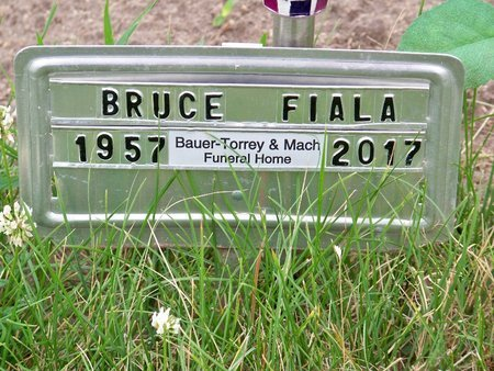 FIALA, BRUCE - Brown County, Nebraska | BRUCE FIALA - Nebraska Gravestone Photos