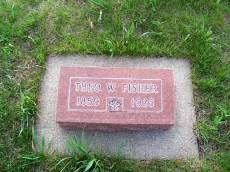 FISHER, THEO. W. - Brown County, Nebraska | THEO. W. FISHER - Nebraska Gravestone Photos