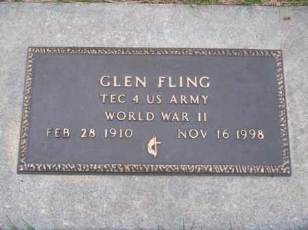 FLING, GLEN - Brown County, Nebraska   GLEN FLING - Nebraska Gravestone Photos