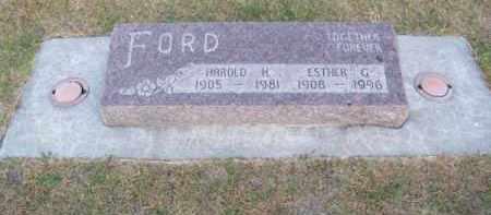 FORD, HAROLD H. - Brown County, Nebraska | HAROLD H. FORD - Nebraska Gravestone Photos