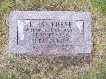 FRESE, ELISE - Brown County, Nebraska | ELISE FRESE - Nebraska Gravestone Photos