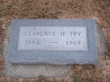 FRY, CLARENCE H. - Brown County, Nebraska | CLARENCE H. FRY - Nebraska Gravestone Photos