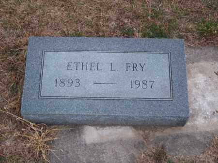 FRY, ETHEL L. - Brown County, Nebraska | ETHEL L. FRY - Nebraska Gravestone Photos