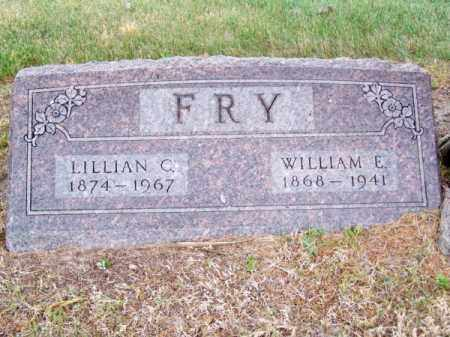 FRY, WILLIAM E. - Brown County, Nebraska | WILLIAM E. FRY - Nebraska Gravestone Photos
